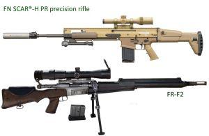 FN Herstal de Bélgica entregará rifles de precisión SCAR-H PR calibre 7.62 mm al ejército francés
