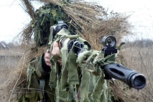 Russian Sniper Training in Moldavia