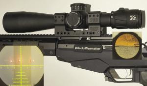 Visor Zero Compromise ZC527 y montaje Spuhr SP-6602