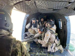 Infantería de Marina se instruyen con el BHELMA VI