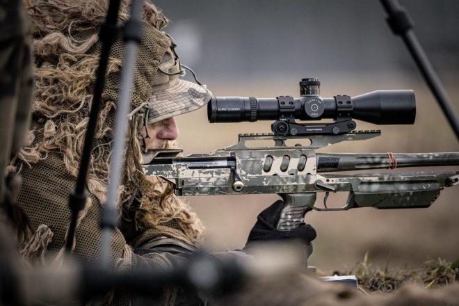 Francotiradores polacos y tácticas de tiro – Rifle Bor