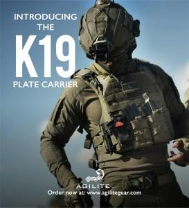Agilite K19 – «El portaplacas redefinido» ahora disponible