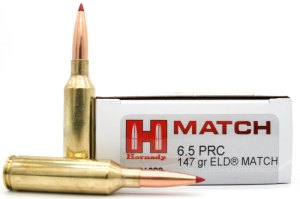 6.5 PRC 143 gr ELD-X® Precision Hunter®-6.5 PRC 147 gr ELD® Match