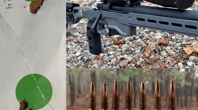 Precisión de municiones de fábrica 6.5  Creedmoor