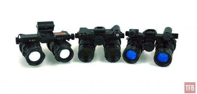 Proyector de doble tubo: RNVG, Sentinels y ANVS