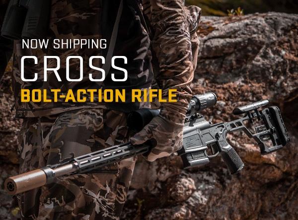 SIG SAUER's Cross Bolt Action Rifle ya disponible