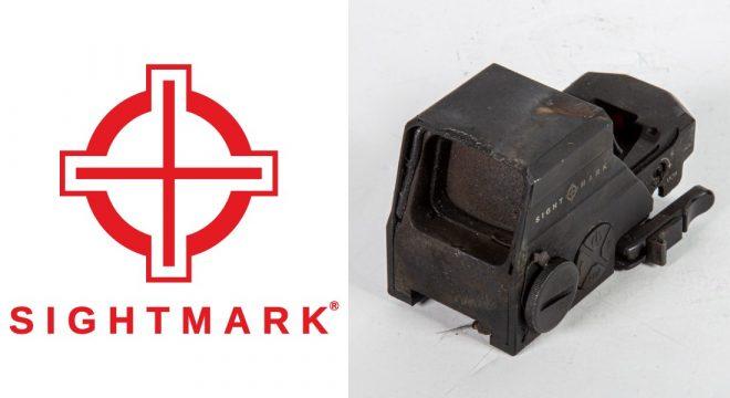 Sightmark Ultra Shot Reflex Sight sobrevive al incendio de vehículos policiales