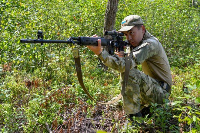 Rifles de francotirador Dragunov en «Sniper Frontier»