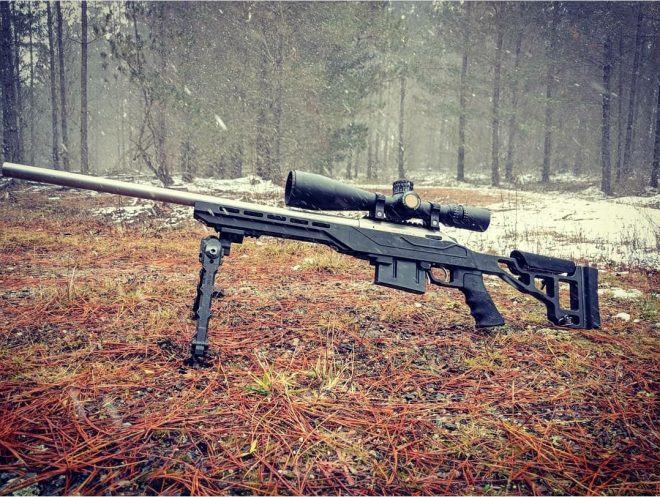 Chasis de rifle TSP X de armas pequeñas de Southern Cross