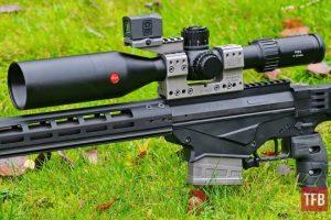 Leica PRS 5-30x56i Riflescope + Spuhr Mount