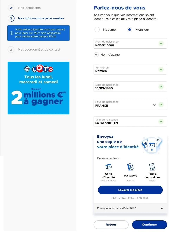 Code Promo Francaise Des Jeux : promo, francaise, Ouvrir, Compte, FDJ.fr, Comment, S'inscrire, Ligne