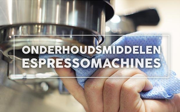 Onderhoudsmiddelen Espressomachines