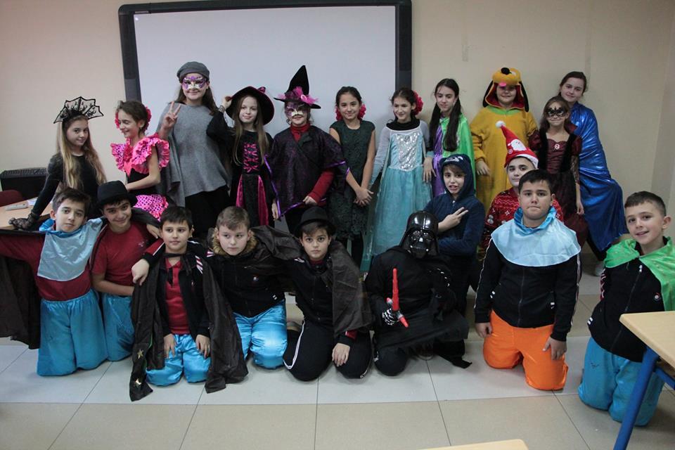 Karnavalet në klasën e 5A