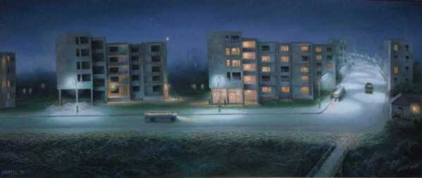 Night on the Outscirts, Lazar Taci