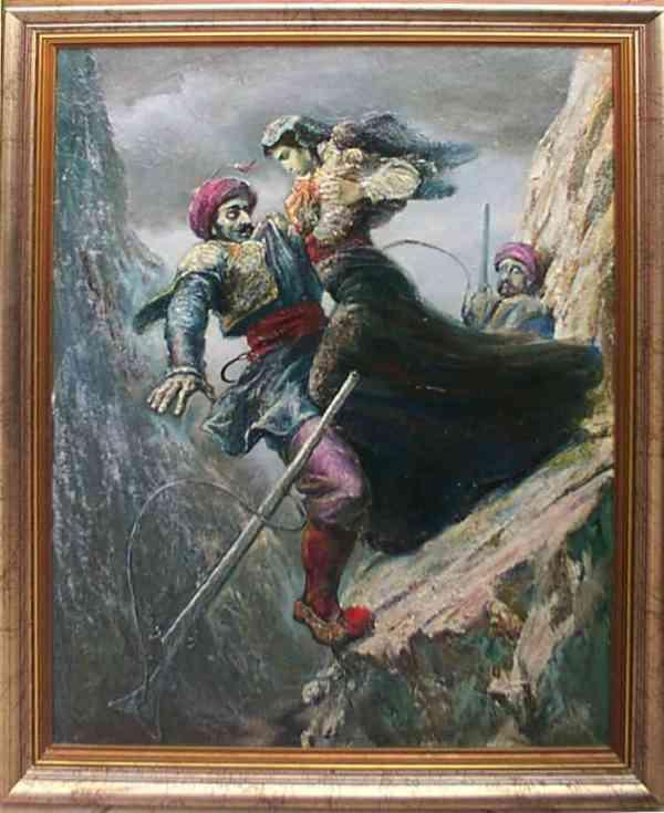Self-Sacrifice of Maro Konda, Lazar Taci