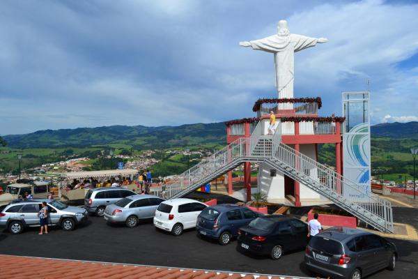 Mirante do Cristo (Foto: Turismo Socorro)