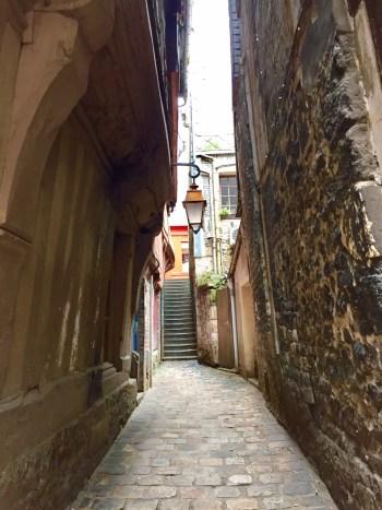 Ruelas de Honfleur. (Foto: Blog Tirando Férias)