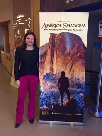 Antes de assistir ao filme América Selvagem. (Foto: Blog Tirando Férias)