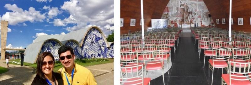 Igreja São Francisco de Assis, conhecida também como igrejinha da Pampulha. Foto: Blog Tirando Férias