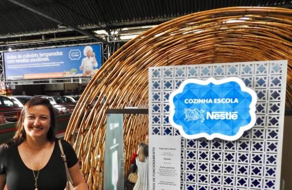 Espaço Escola Nestlé dentro do Mercado Central. Foto: CAFF / Blog Tirando Férias