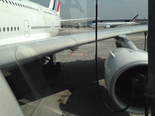 O A380 possui 2 andares, onde estão distribuídas a 1ª classe, a executiva e a econômica. Foto: AMF / Blog Tirando Férias