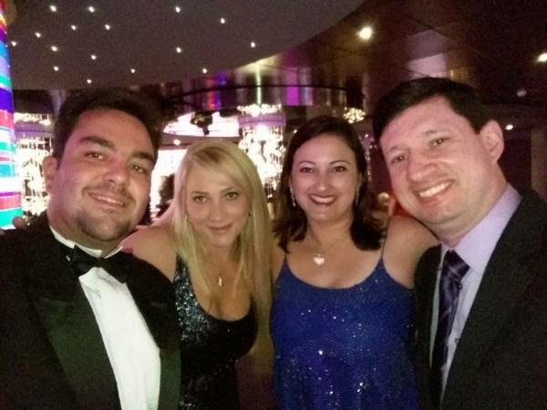 Primeira noite de gala a bordo do MSC Splendida. Foto: CAFF / Blog Tirando Férias