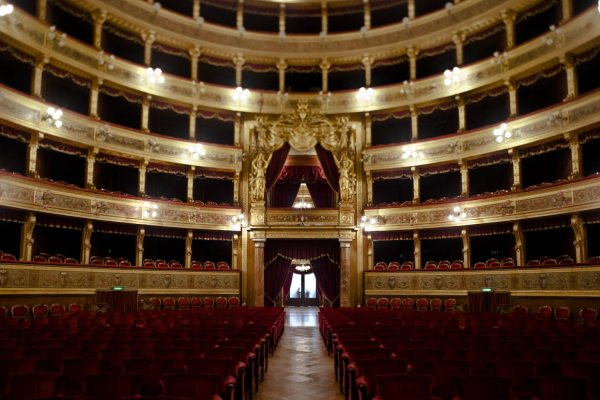 Interior do Teatro Massimo. Foto: www.teatromassimo.it