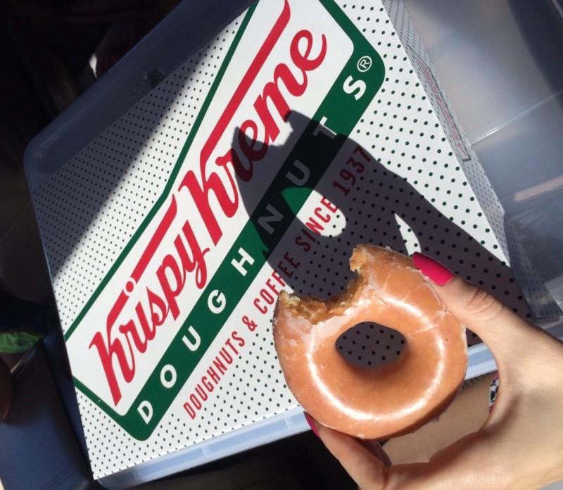 Krispy Kreme Doughnuts - Para ser melhor só falta abrir no Brasil