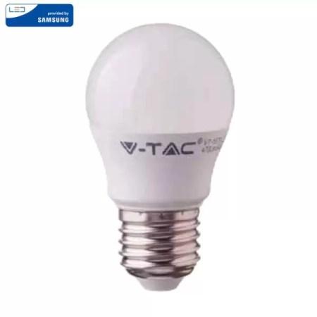 LED Крушка - SAMSUNG ЧИП 5.5W E27 G45 VT-246
