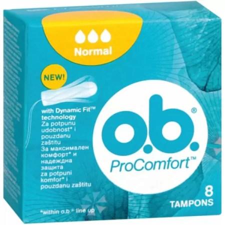 O.B PROcomfort нормал 8 коприна