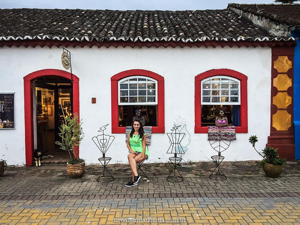 arquitetura típica portuguesa em Santo Antônio de Lisboa, Florianópolis