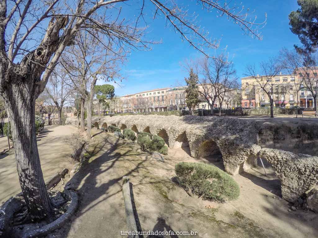 Partes do Circo Romando de Toledo, na Espanha