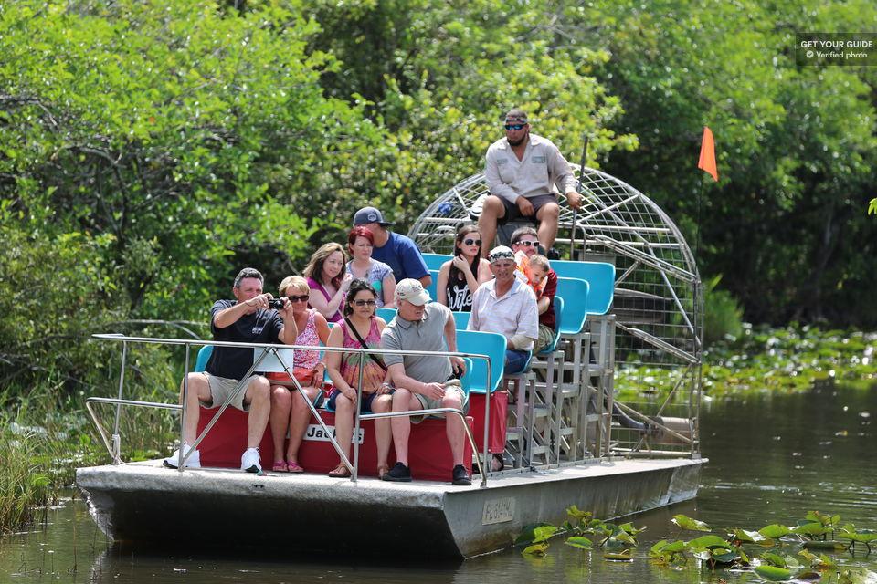 passeio de aerobarco no everglades national park