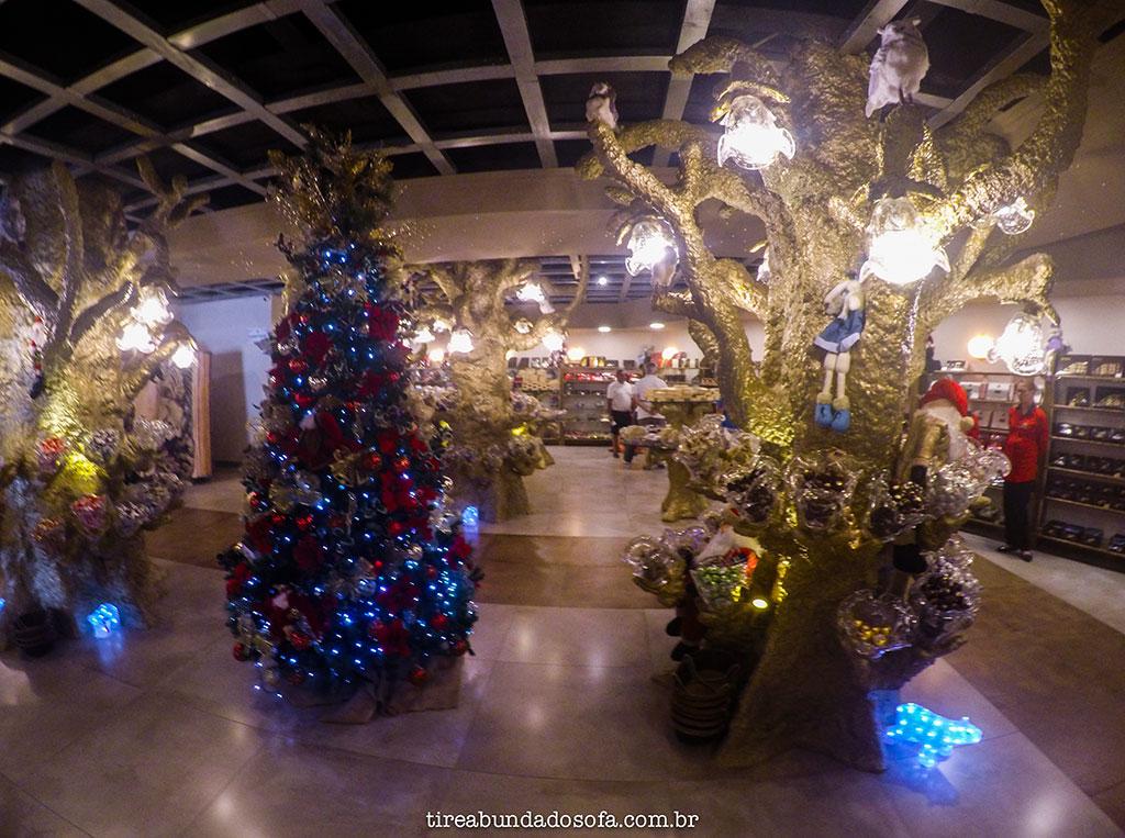 Decoração fantástica da loja Florybal