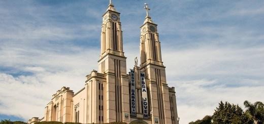 igreja matriz puríssimo coração de maria, são bento do sul, sc, sbs, santa catarina, igreja alemã, arquitetura alemã, religião