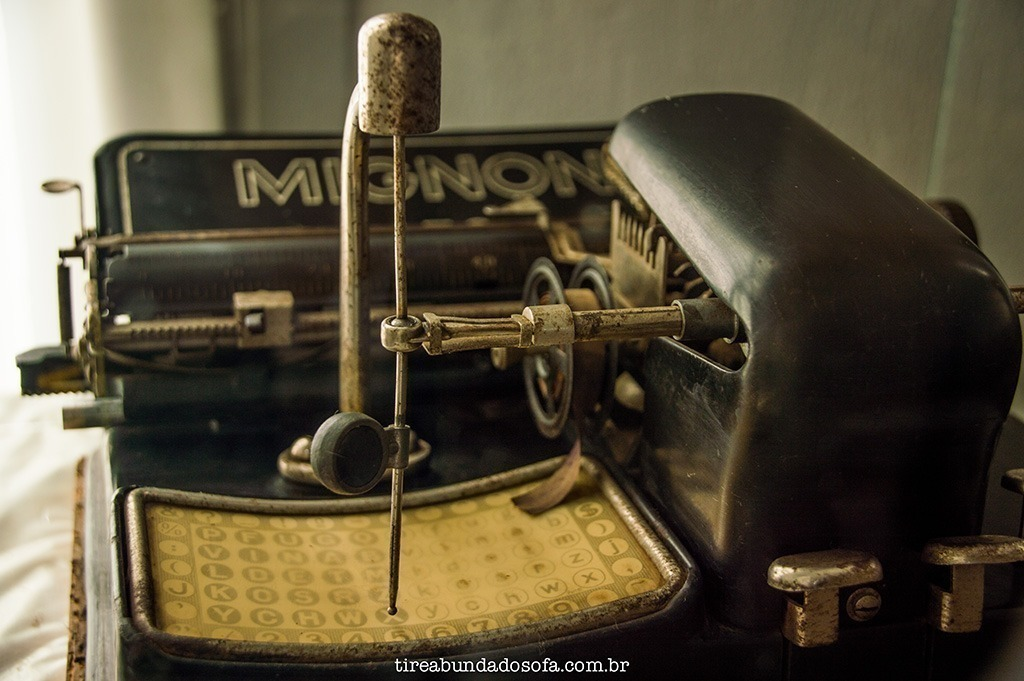 museu municipal são bento do sul, o que fazer em sbs, santa catarina, sc, antiguidades, casa antiga, máquina de escrever antiga, história, o que fazer em São Bento do Sul
