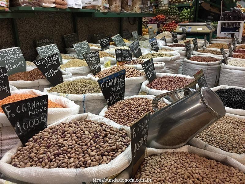 produtos artesanais no mercado municipal de Curitiba