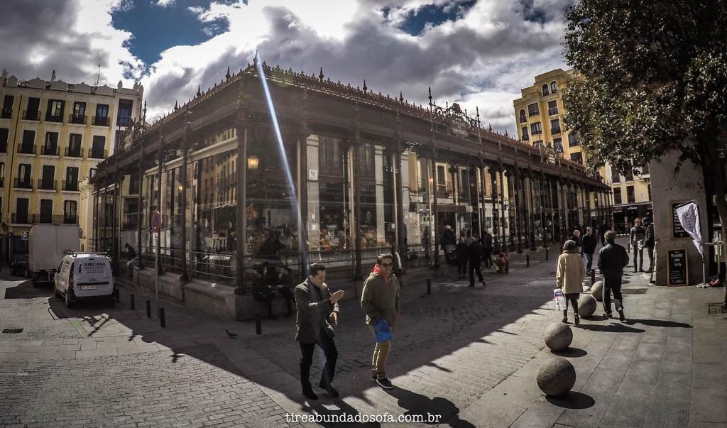 Mercado de San Miguel, em Madrid, na Espanha
