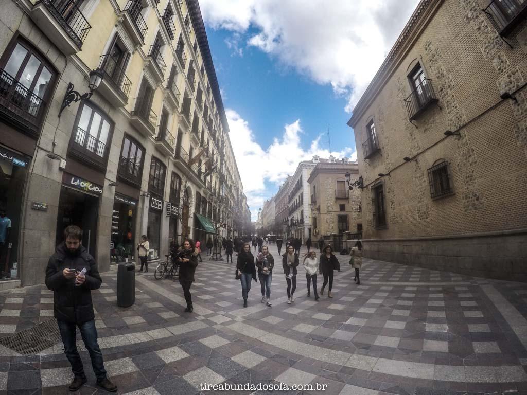 Pelas ruas de Madrid, na Espanha