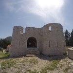 castelo da cidade de virpazar, montenegro