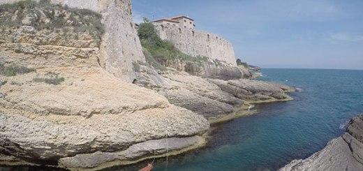 muralhas da old town ulcinj, montenegro