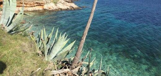 praia de águas cristalinas na ilha de hvar, na croácia