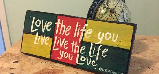 bob marley quote, hostel breshka rooms, ulcinj montenegro