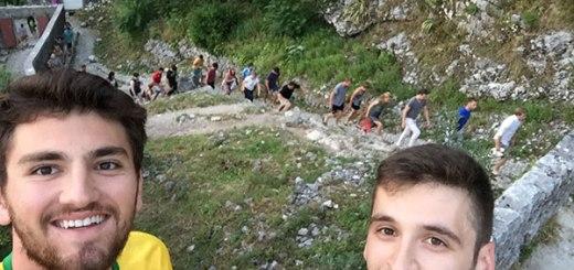 liderando pub crawl em kotor, old town hostel kotor, montenegro