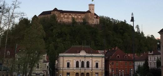 foto do castelo de ljubljana, capital da eslovênia