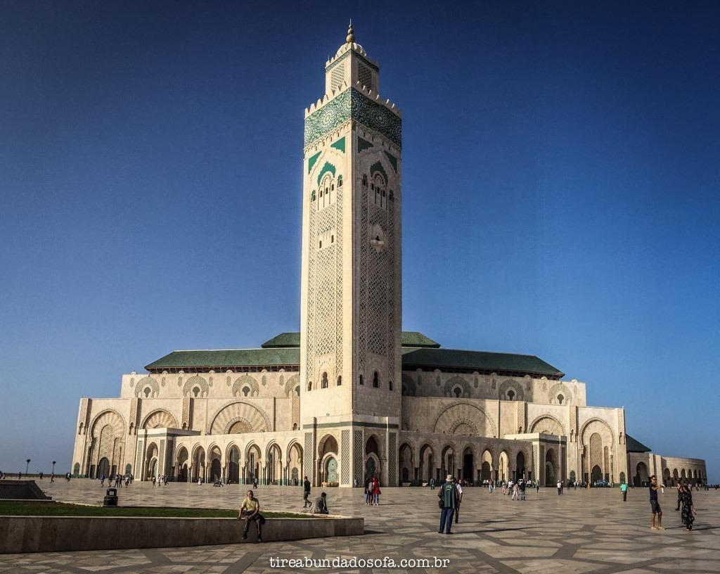 mesquita hassam II, em casablanca