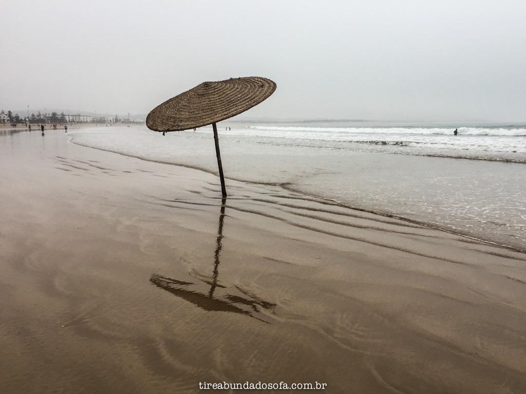 praia de essaouira, no marrocos
