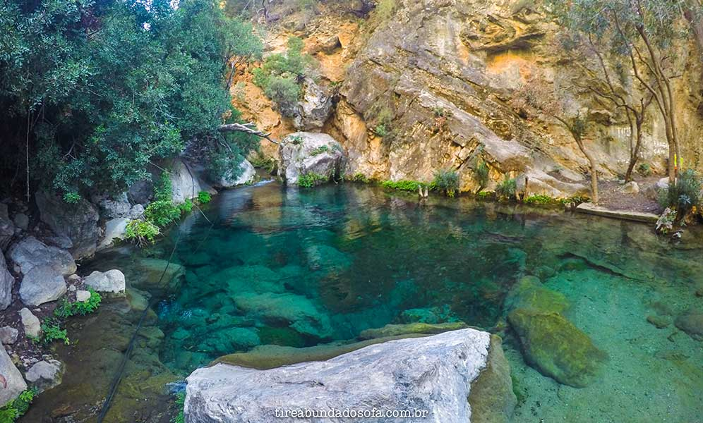 Cascades d'Akchour, mais uma cachoeira no Marrocos.
