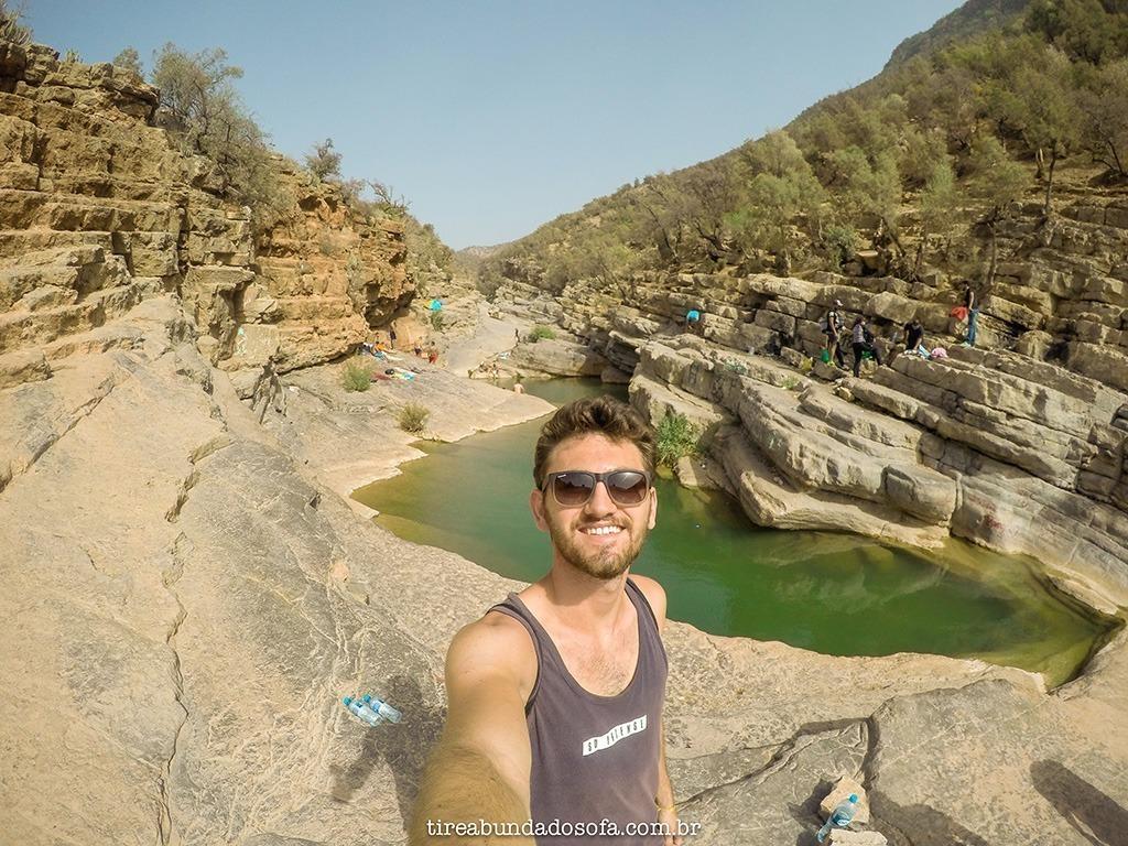 Piscinas naturais no Marrocos!