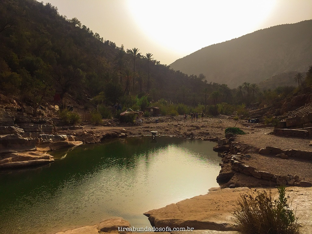 Paradise Valley, no sul do Marrocos